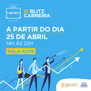 Blitz Carreira orienta população sobre planejamento profissional e pessoal
