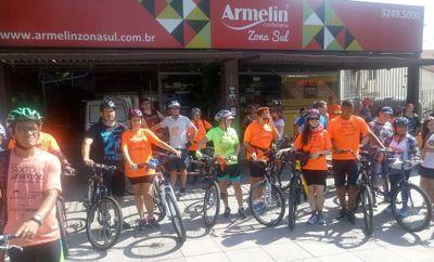 NEPAD dá apoio a Pedal da Associação de Cegos do Rio Grande do Sul