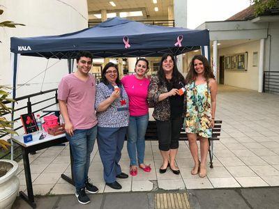 Nepad promove ação de divulgação do Outubro Rosa