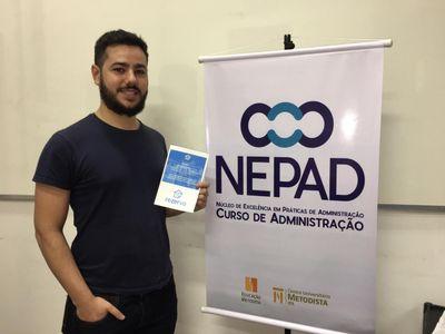 Acadêmico de Administração do IPA se destaca na criação de Startup