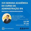Semana Acadêmica do curso de Administração
