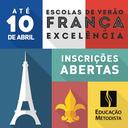 """Inscrições abertas até 10 de abril para o programa """"Escolas de verão França excelência"""""""