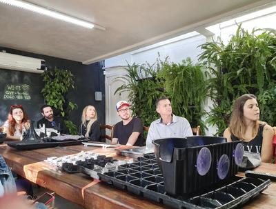 Alunos do IPA realizam visita técnica na empresa Ecotelhado
