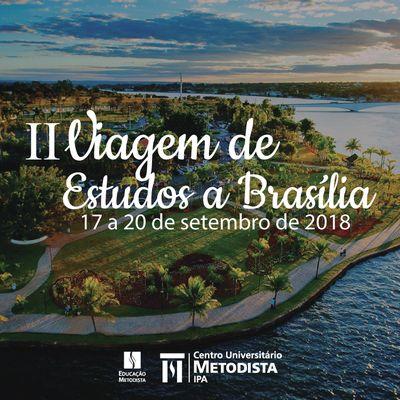 Participe da II Viagem de Estudos a Brasília