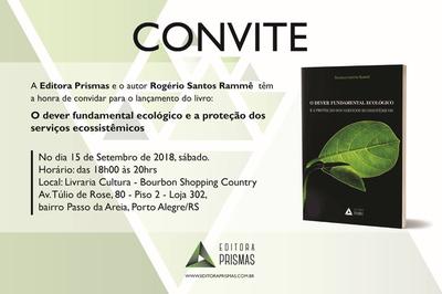 Professor Rogério Rammê lança livro neste sábado (15)