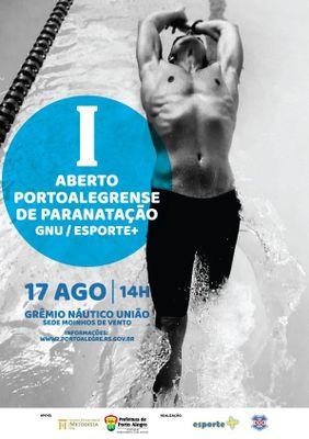 Educação Física do IPA participará da arbitragem de competição de natação Paraolímpica do GNU