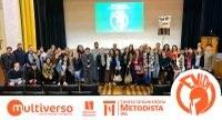 Reitoria, professores e acadêmicos participaram de um momento de acolhida e lançamento da campanha publicitária