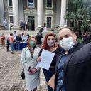 Aluna de Enfermagem do IPA antecipa Colação de Grau em razão da pandemia