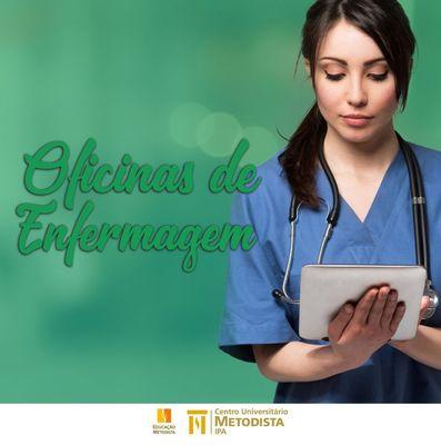 Participe das Oficinas de Enfermagem