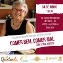 Jornalista Sonia Hirsch discute alimentação e lança livro no dia 4 de junho