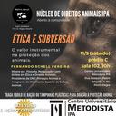 Núcleo de Direitos Animais promove palestra pra debater estratégias de proteção animal