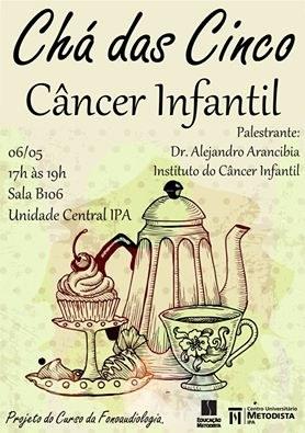 Projeto CHÁ DAS CINCO- Câncer Infantil