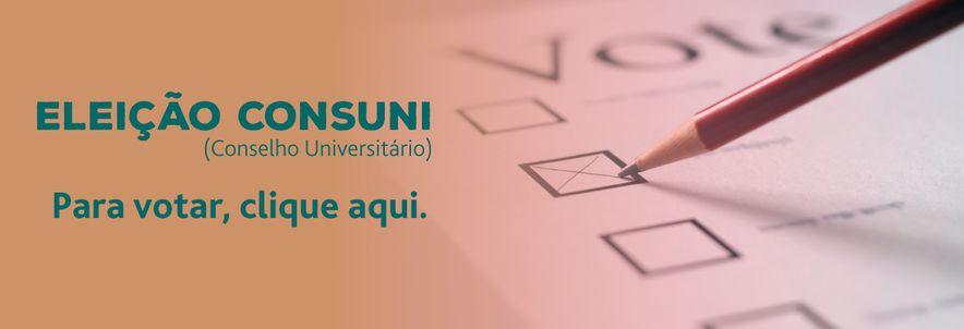 Banner Eleição CONSUNI
