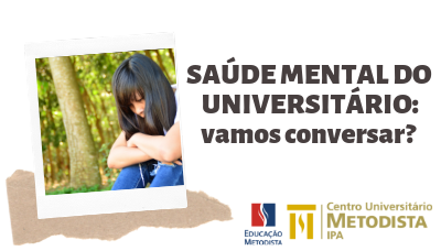 IPA convida para palestra sobre saúde mental do universitário