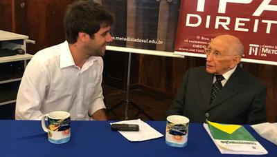"""""""O Tribunal tem se exposto demais à opinião pública"""", diz o ex-Ministro do STF José Néri da Silveira"""