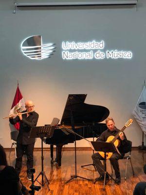 Professor de música, Ayers Potthoff representa o IPA em festival internacional de flautistas no Perú