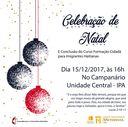 15/12- Celebração de Natal e Conclusão do Curso de Formação Cidadã para Imigrantes Haitianas