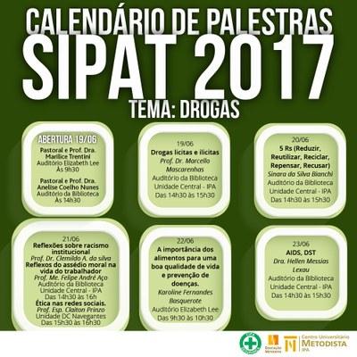 IPA promove Semana Interna de Prevenção de Acidentes do Trabalho 2017