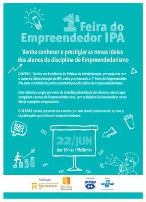 NEPAD promoverá a 1ª Feira do Empreendedor IPA