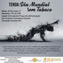 Programa de Extensão promove Tenda em comemoração ao Dia Mundial Sem Tabaco