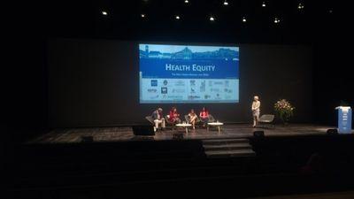 Programa de Extensão In(ter)venções Urbanas apresenta trabalho na 14ª Conferência Internacional sobre Saúde Urbana em Coimbra, Portugal