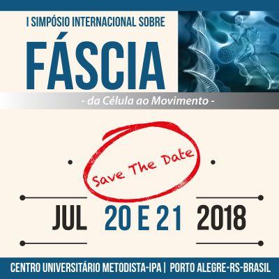Simpósio Internacional debate sobre Fáscia com palestrantes nacionais e internacionais