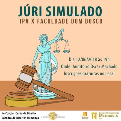 IPA realiza júri simulado com a Faculdade Dom Bosco