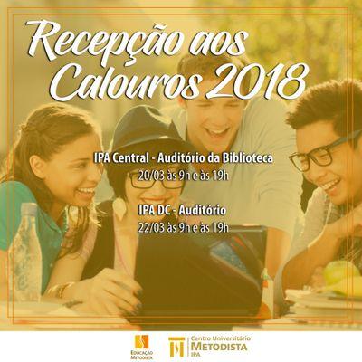 IPA recepciona alunos em 20 e 22 de março