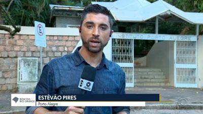 RBS filma reportagem no IPA sobre campanha de vacinação contra sarampo