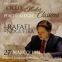 IPA promove 'Ciclo de Estudos Clássicos', com professor Rafael Nogueira
