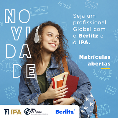 Berlitz e IPA trazem novas oportunidades para aprender um segundo idioma e se tornar um profissional global