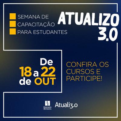"""IPA promove 1ª edição da semana """"Atualizo 3.0"""" para alunos"""