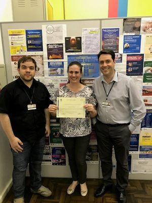 Polo IPA de Educação a Distância entrega certificado de Especialista em Gestão Estratégica de Pessoas e Psicologia Organizacional