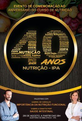 Curso de Nutrição do IPA comemora aniversário de 40 anos com evento