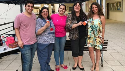 Nepad promoveu ação para discutir importância do diagnóstico do câncer de mama