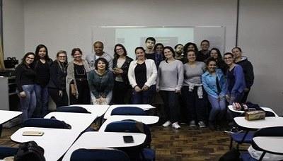 Alunos assistem palestra sobre importância da conservação e sustentabilidade no Brasil