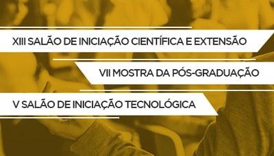 IPA promove XIII Salão de Iniciação Científica e Extensão, VII Mostra da Pós-Graduação e V Salão de Iniciação Tecnológica