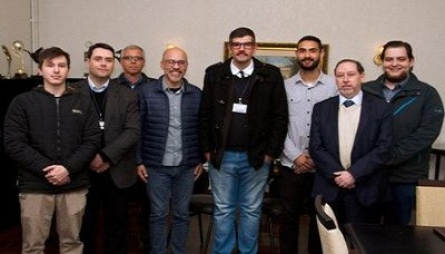 Equipe de júri do IPA pronta para o concurso de júri simulado da ESA-OAB/RS