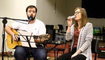 O curso de Música realiza diversas atividades, como projetos, atividades musicais e eventos