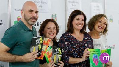 Em noite de confraternização e alegria, cursos de Comunicação lançam livros na Feira do Livro