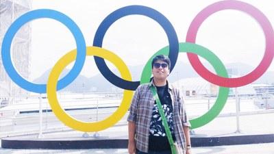 ALUNO DO TURISMO IPA ATUA NOS JOGOS OLÍMPICOS RIO 2016!