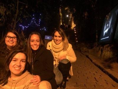 """Curso de Turismo realiza projeto """" Escadas que conectam: Intervenção na escadaria IPA/AMERICANO"""